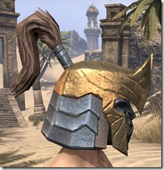 Orc Dwarven Helm - Male Right