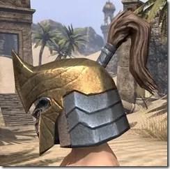 Orc Dwarven Helm - Male Side