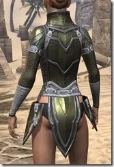 Orc Orichalc Cuirass - Female Rear