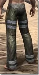 Orc Orichalc Greaves - Male Rear