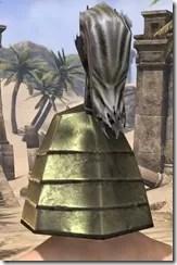 Orc Orichalc Helm - Male Rear