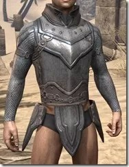 Orc Steel Cuirass - Male Front