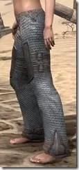 Orc Steel Greaves - Female Side