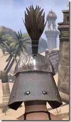 Orc Steel Helm - Female Rear