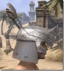 Orc Steel Helm - Male Right