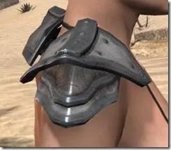Orc Steel Pauldron - Female Right