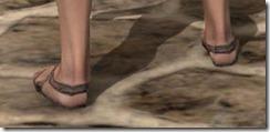 Prisoner's Shoes - Female Rear