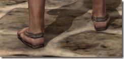 Prisoner's Shoes - Male Rear