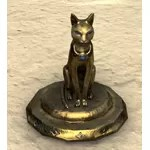 Ra Gada Funerary Statue, Gilded Cat