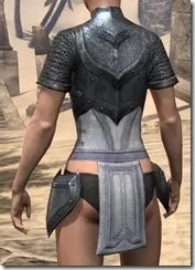 Redguard Iron Cuirass - Female Rear