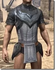 Redguard Iron Cuirass - Male Front
