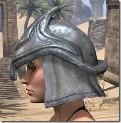 Redguard Iron Helm - Female Side