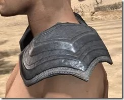 Redguard Iron Pauldron - Male Side