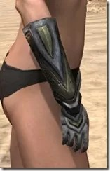 Redguard Orichalc Gauntlets - Female Right