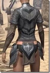 Redguard Steel Cuirass - Female Rear