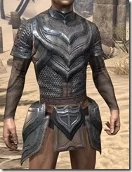 Redguard Steel Cuirass - Male Front