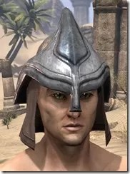 Redguard Steel Helm - Male Front