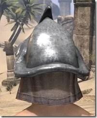 Redguard Steel Helm - Male Rear