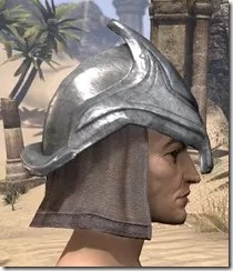 Redguard Steel Helm - Male Right