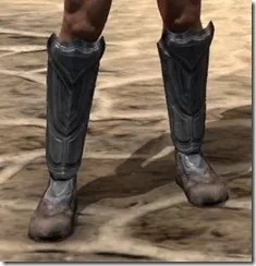 Redguard Steel Sabatons - Male Front