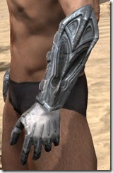 Worm Cult Iron Gauntlets - Male Side
