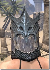 Worm Cult Iron Helm - Female Rear