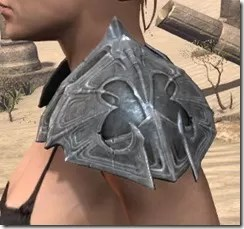 Worm Cult Iron Pauldron - Female Side