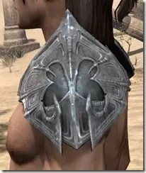 Worm Cult Iron Pauldron - Male Side