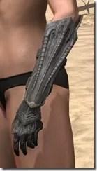 Worm Cult Rubedo Leather Bracers - Female Side