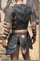 Abah's Watch Cuirass - Male Rear
