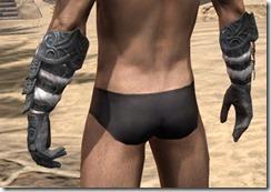 Abah's Watch Gauntlets - Male Rear