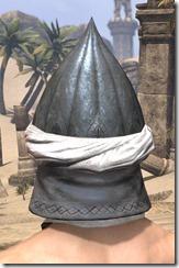 Abah's Watch Helm - Male Rear