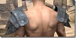 Abah's Watch Pauldron - Male Rear