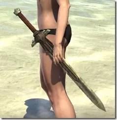 Ancient Elf Dwarven Sword