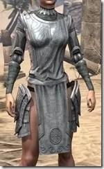 Apostle Iron Cuirass - Female Front