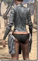 Apostle Iron Cuirass - Female Rear