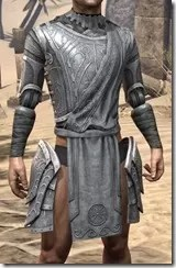 Apostle Iron Cuirass - Male Front