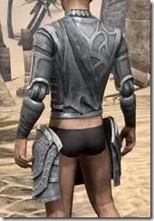 Apostle Iron Cuirass - Male Rear
