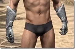 Apostle Iron Gauntlets - Male Front