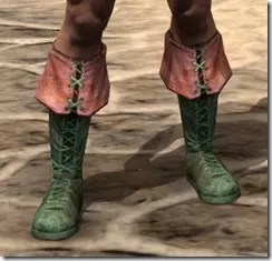 Cuffed Boots - Dyed Front