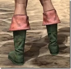 Cuffed Boots - Dyed Rear