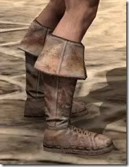 Cuffed Boots - Male Right