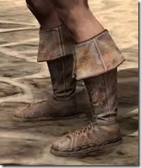 Cuffed Boots - Male Side