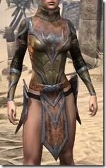 Dark Elf Dwarven Cuirass - Female Front