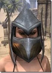 Dark Elf Dwarven Helm - Female Front