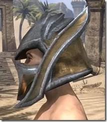 Dark Elf Dwarven Helm - Male Side