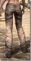 Dark Elf Homespun Breeches - Female Rear