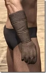 Dark Elf Homespun Gloves - Male Right