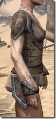Dark Elf Homespun Jerkin - Female Right