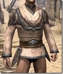 Dark Elf Homespun Jerkin - Male Front